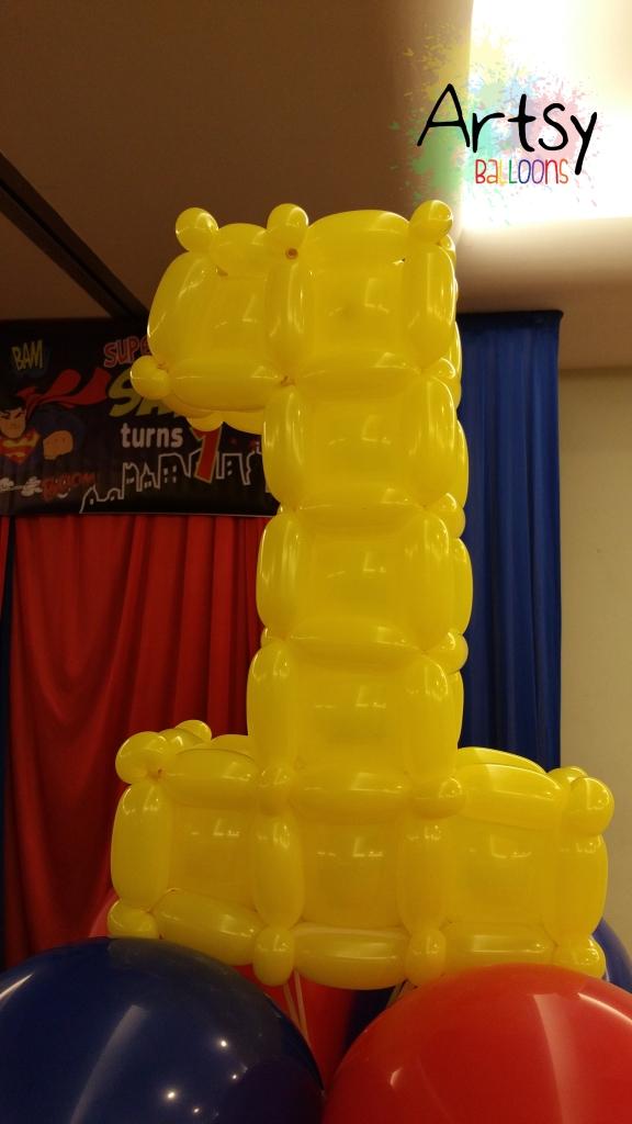 Balloon number 1