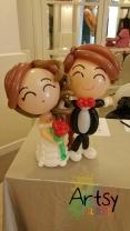 Signature wedding couple!