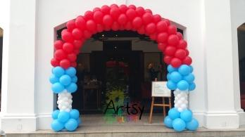 Special balloon arch