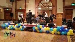 Balloon borders decoration