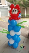 balloon crab columns
