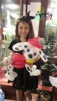 balloon dog sculpture