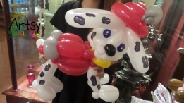 Balloon Sculpting Singapore for birthday parties and events balloon dog