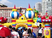 inflatables bouncy castle rental