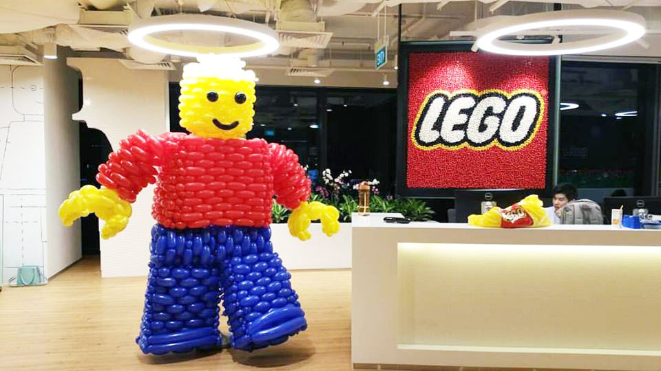 , LEGO x Balloon, Singapore Balloon Decoration Services - Balloon Workshop and Balloon Sculpting