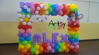 Rainbow balloon photobooth(2)