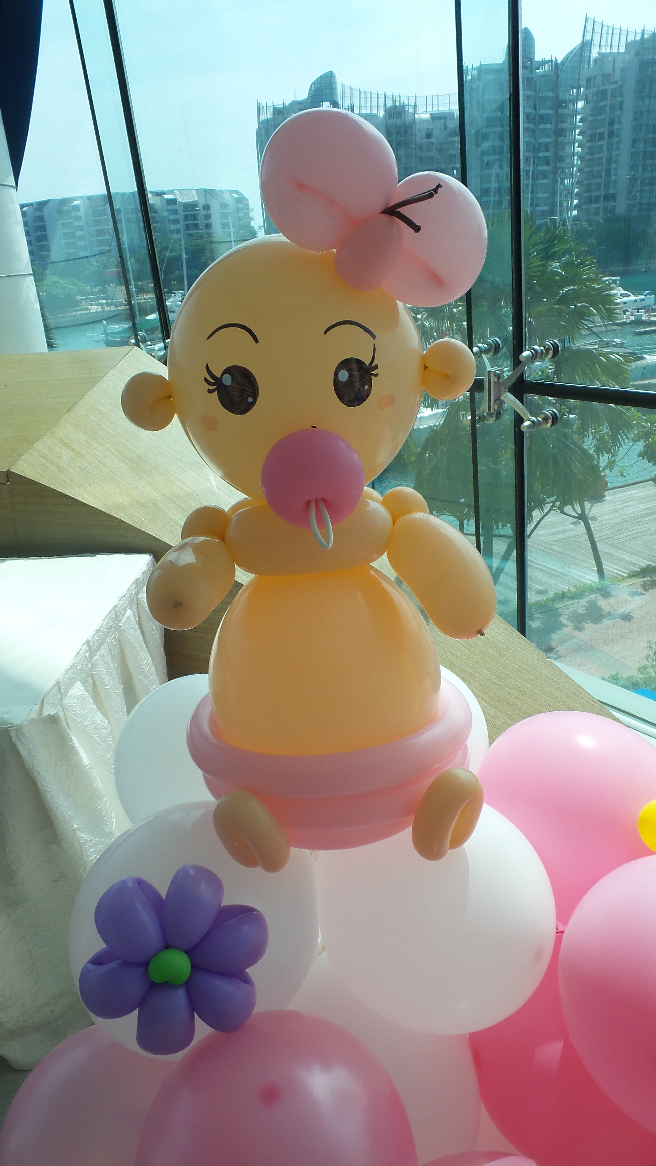 Baby First Year Balloon Backdrop 2 Singapore Balloon Decoration