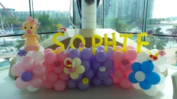 Baby first year balloon backdrop (4)