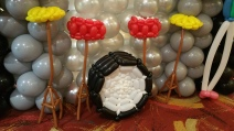 Balloon Sculpting Singapore for birthday parties and events balloon drum kit