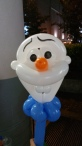 Balloon Sculpting Singapore for birthday parties and events balloon Olaf