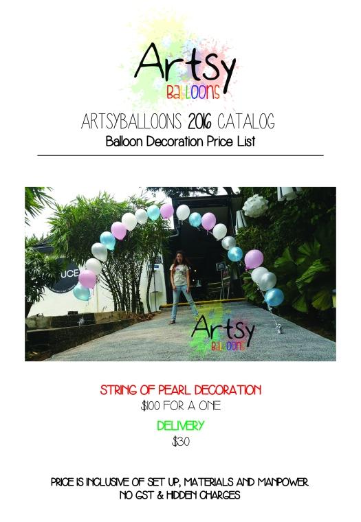Artsyballoons 2016 Catalog Page 10