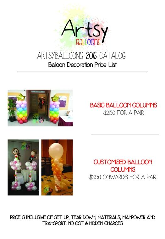 Artsyballoons 2016 Catalog Page 5