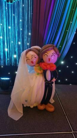 Wedding balloon couple balloon decoration for singapore wedding