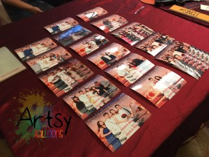 Instant photography photobooth for events and parties