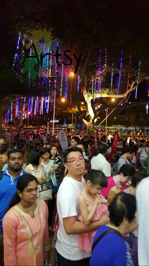 Chingay at Sembawang singapore