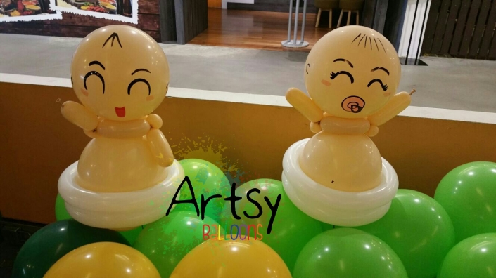 , Balloon decorations for bebe magazine!, Singapore Balloon Decoration Services - Balloon Workshop and Balloon Sculpting
