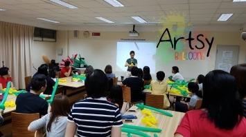 Balloon sculpting workshop 4