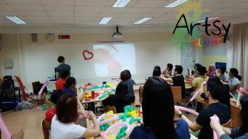 Balloon sculpting workshop 6