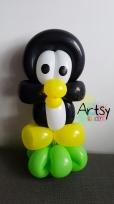 Penguin balloon sculpture animal