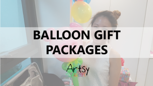 Balloon gift packages