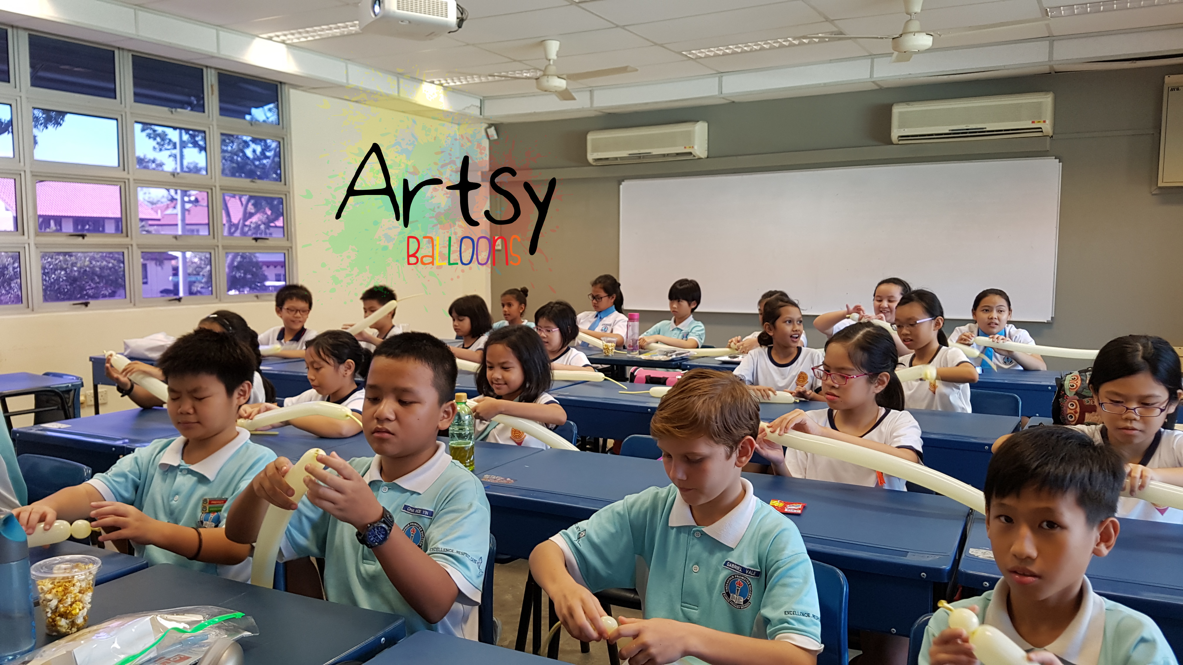 Balloon courses and workshops – Singapore Balloon Decoration