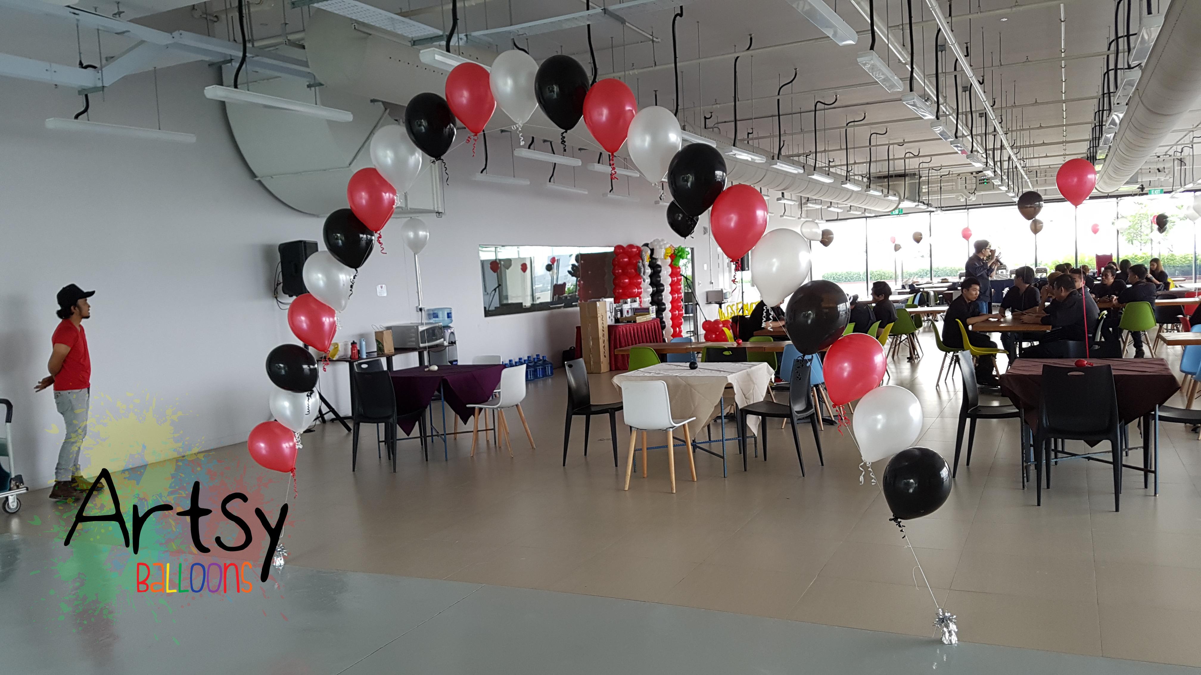 Corporate Event Balloon Decorations Singapore Balloon