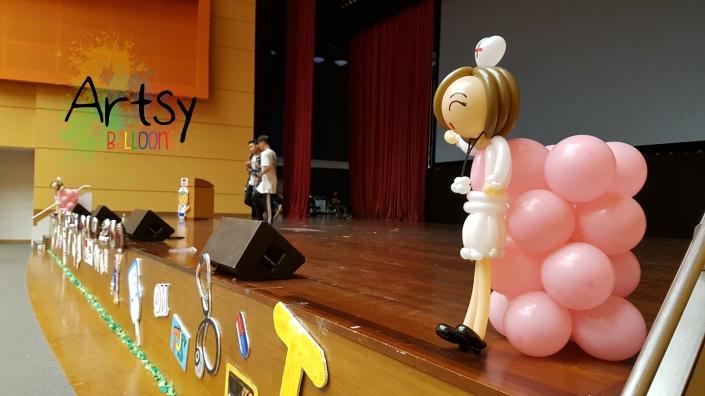 Nurse day balloon nurse sculpture (6)