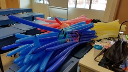 Prepump balloons for artsyballoon workshop