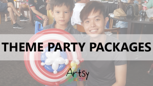 Theme party packages