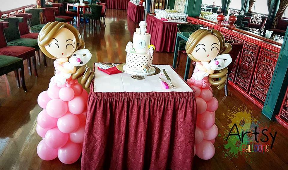, One year pre-booking for balloon decoration?, Singapore Balloon Decoration Services - Balloon Workshop and Balloon Sculpting