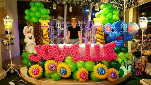 safari-theme-balloon-decoration