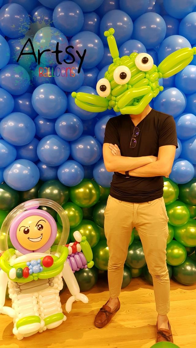 Balloon decorations for Lego Singapore, Singhub – Singapore Balloon ...
