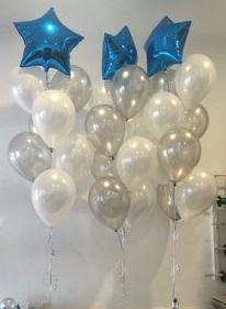 helium foil bouquet bundle