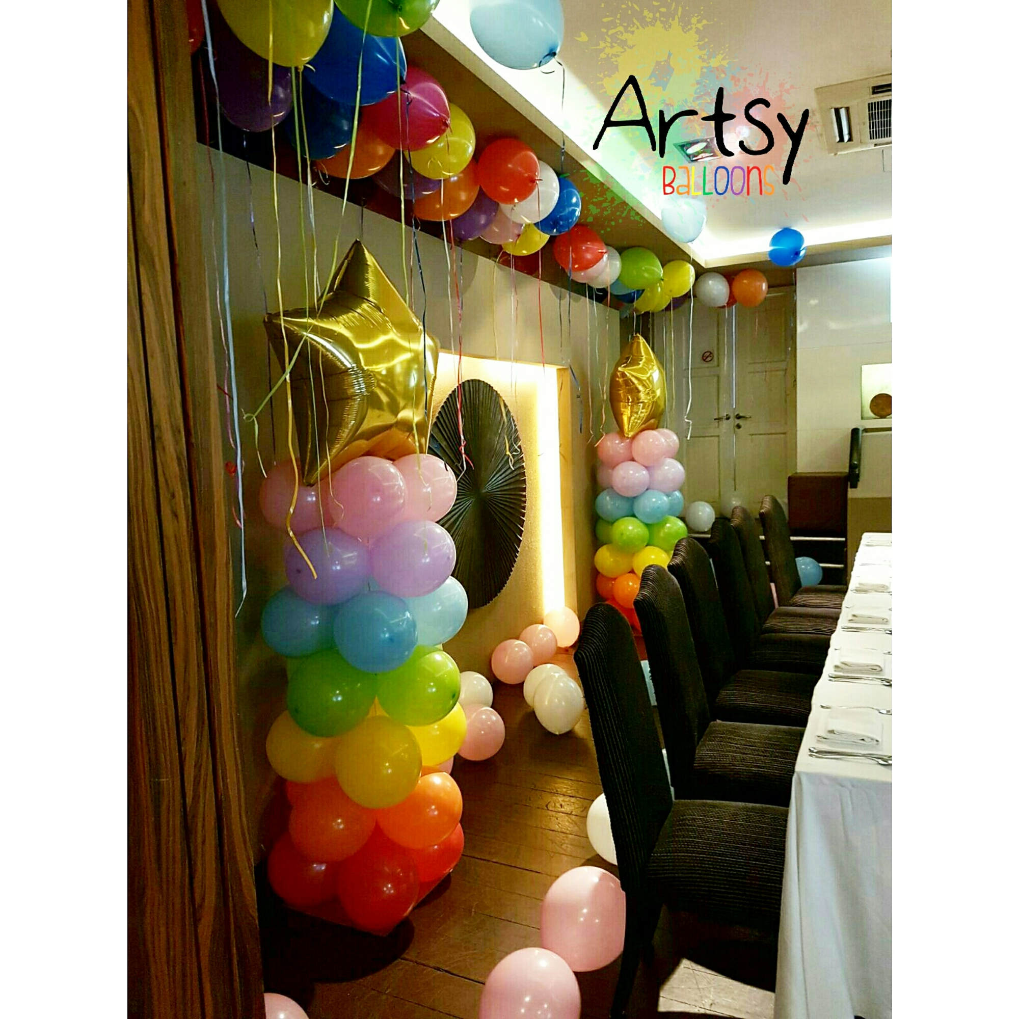 Singapore balloon decoration services balloon workshop for Balloon decoration packages manila