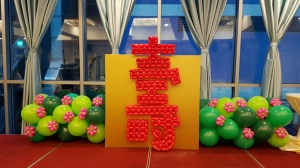 , Types of balloon decorations for Chinese New Year!, Singapore Balloon Decoration Services - Balloon Workshop and Balloon Sculpting