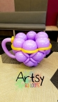 Balloon teapot sculpture decorations (2)