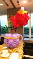 Balloon teapot sculpture decorations (3)