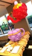 Balloon teapot sculpture decorations (4)