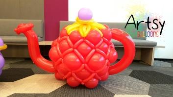 Balloon teapot sculpture decorations
