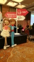 Balloon wedding couple retro 1.7m tall