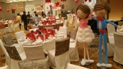 Retro balloon couple display (5)
