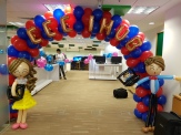 Balloon Arch for NTU School of EEE