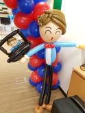 Balloon boy sculpture for NTU School of EEE