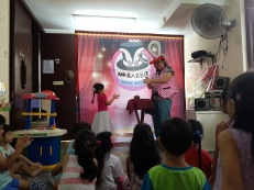Children's party magic show most magical moment - the floating table