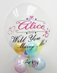 Customised printed balloon for birthday party and wedding(15)