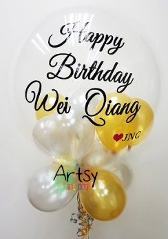 Customised printed balloon for birthday party and wedding(16)