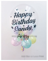 Customised printed balloon for birthday party and wedding(3)