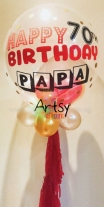 Customised printed balloon for birthday party and wedding(4)