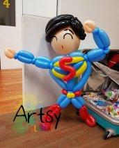 Superman Balloon Sculpture!