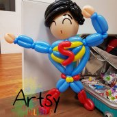 Superman Balloon Sculpture!